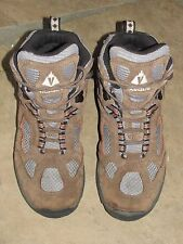 Vasque Breeze Waterproof Mid Brown Suede Hiking Trail Boot Youth 5M Womens