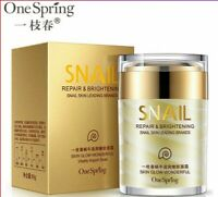 OneSpring Snail Cream Anti Wrinkle and Nourishing Acne Treatment Facial SkinCare