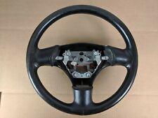 1999-2005 Mazda Miata OEM NB NB1 NB2 99-05 Steering Wheel Black Leather #2