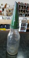 CASTROL 1 QUART OIL BOTTLE WITH TIN POURER