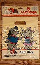 Vintage 1986 POUND PUPPIES Louie & Violet Vanderfeller Party Gift Bags Unique