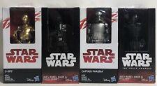 Star Wars Action Figures Captain Phasma, C-3P0, Darth Vader, Kylo Ren, Lot of 4