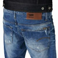 G-STAR RAW 3301 Straight Jeans Light Aged - W 30 L 32 - Wisk Denim