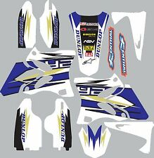 Graphics for Yamaha YZ125 YZ250 2002-2014 Decal fender shrouds sticker