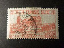 TUNISIE 1945, timbre 297, AMPHITHEATRE, oblitéré, VF stamp