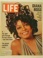 1972 Life Magazine: Diana Ross/Pocket Calculator Craze/US Pilot's Last Mission