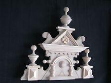 Beautiful crown for antique clock regulators Gustav Becker 1105