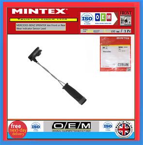 MERCEDES-BENZ SPRINTER Van Front or Rear  Wear Indicator Sensor Lead