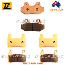 FRONT+REAR Sintered Brake Pads HYOSUNG GT 650 (Naked) 2009 2010 2011