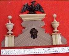 Reloj de pared 6 C (media) Reemplazo Viena superior corona Topper