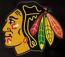 Window Bumper Sticker NHL Hockey Chicago Blackhawks NEW