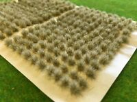 Mini Icey Static Grass Tufts 4mm - Model Railway Scenery Wargames Snow Frozen