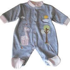 Velour Baby Girls' Sleepwear