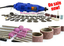 Variable Speed Power Tool Kit 100pc WEN 2307 Accessories Dremel Rotary Grinder