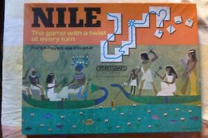 Lovely Vintage 1968 Nile Board Game by Spears Games.
