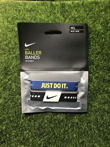 Nike Baller Basketball Band Set M L Size - 2 band pair