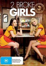 2 Broke Girls : Season 3 (DVD, 2014, 3-Disc Set)