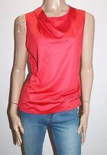 David Lawrence Brand Castanet Jacinta Twist Sleeveless Tee Size XL BNWT #SL108