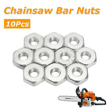 10Pcs/Pack Guide Bar Sprocket Cover 8mm Nuts for Stihl Chainsaws Solo Chain Saws