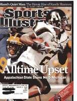 Sports Illustrated Magazine September 10, 2007 Alltime Upset