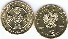 95 J. Ausmarsch I Kompanie- Wymarszku Pierwszej Kadrowej 2009 2 Zl Muenze Bfr