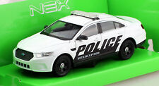 Ford Interceptor Police 2013 Polizei 1:24 Welly  Modellauto
