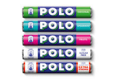 Polo Mint Original - Sugar Free - Fruit - Spearmint - Extra Strong