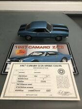 1967. Camaro Z/28 Sport Coupe Diecast