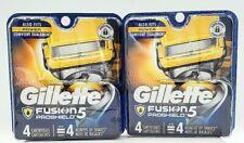 2 Pack Gillette Fusion5 ProShield Men's Razor Blades, 4 Count Each