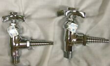 T&S Brass Laboratory Angle Stop Faucet BL-4520-01 (Gas, Vac.-Air ) 3/8 male