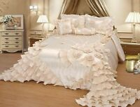 OctoRose Wedding Bedding Comforter Bedspread  Set or BED SKIRT or PILLOWCASES