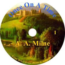 Once on a Time, Suspense & Humor Audiobook by A. A. Milne on 1 MP3 CD