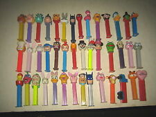"""42 RARE HTF COLLECTABLE PEZ LOT """" SOLD AS IS """""""