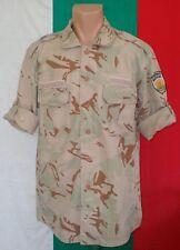 Bulgarian Army DESERT CAMOUFLAGE SAHARA Pattern Uniform SHIRT mod. 2004