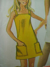 Vintage 60's Simplicity 7497 SUNDRESS Sewing Pattern Women