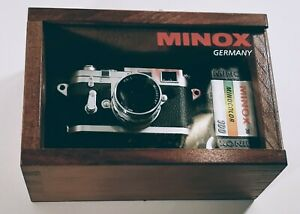 Minox Miniature Leica M3 Film Camera MINT