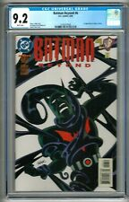 "Batman Beyond #6 (1999) CGC 9.2  White Pages Bader - Tucker 1st ""Inque"" Comics"