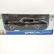 Maisto 1:18 Scale Diecast Model 1971 Chevrolet Chevelle 454 SS Coupe Black