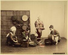 Photo Albuminé Adolfo Farsari Japon Japan Vers 1880