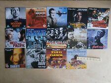 JOHN MILLS ROGER MOORE DAVID NIVEN ETC 14 CLASSIC WAR PROMO DVDS - UNPLAYED