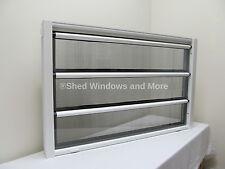 Jalousie Style Louvar Windows 36 x 23 Tiny Homes, Garages, Sheds, Playhouse