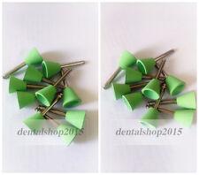 50pcs Dental Lab Rubber Polishing Burs Flexible Silicone Polishers 2.35mm RA/CA