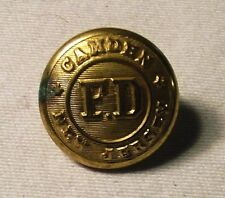 Camden New York Fire Department Brass Button