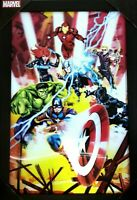 Marvel Avengers Poster Incredible Hulk Iron Man Captain America Black Panther