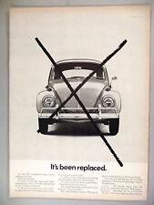 Volkswagen VW Bug Beetle PRINT AD -- 1967