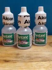 Systane GEL Lubricant Eye Drops - (3 PACK) 10 mL EXp 12/20, 2/21 & 3/21