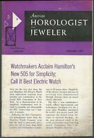 American Horologist and Jeweler Magazine September 1961 Depot Tower Clock
