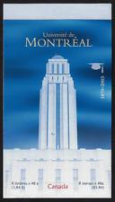 Canada -Booklet Pane of 8 -Université de Montreal #1977a (BK273) -MNH