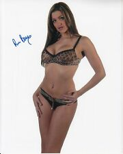 REBECCA BAIN hand-signed SEXY SULTRY IN BRA & PANTIES 8x10 w/ uacc rd coa PROOF