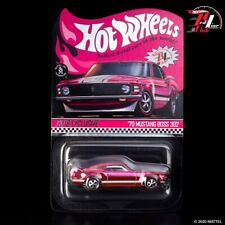 Hot Wheels RLC Exclusive 2020 Convention Super 70 Mustang Boss 302 Pink CONFIRM!